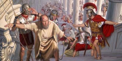 Paulus en romeinse soldaten - 1.jpg - bewerkt door Markus